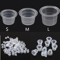 Tattoo Accessories Disposable Plastic Ink Cup for Tattoo